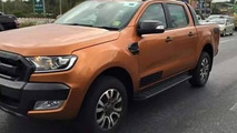 2015 Ford Ranger Wildtrak spotted in Thailand without camouflage