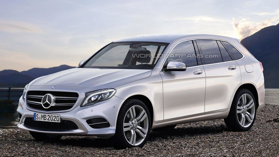 Mercedes GLC & GLC Coupe rendered