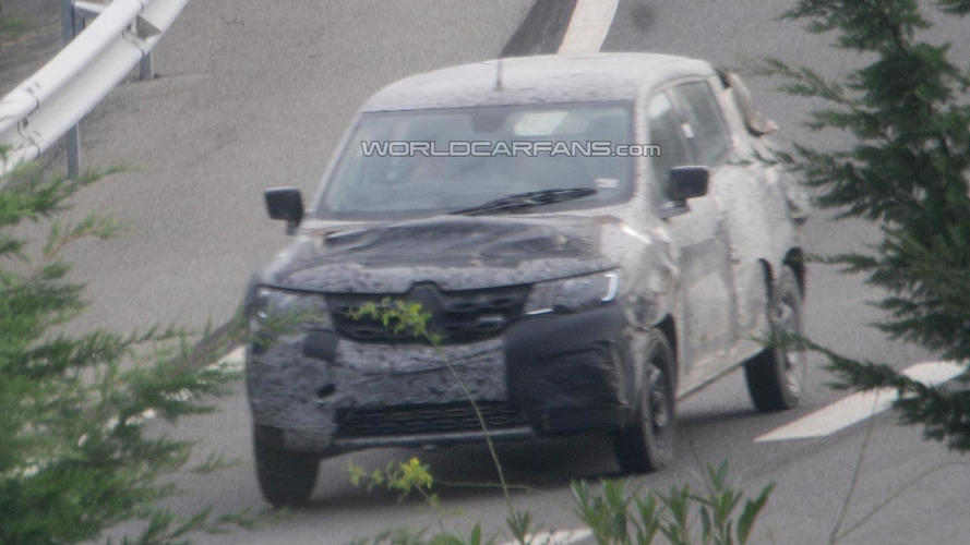 Renault low-cost small crossover spied for the first time