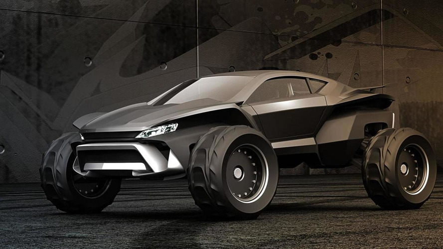 Gray Design Sidewinder envisioned as a high-end dune buggy [video]