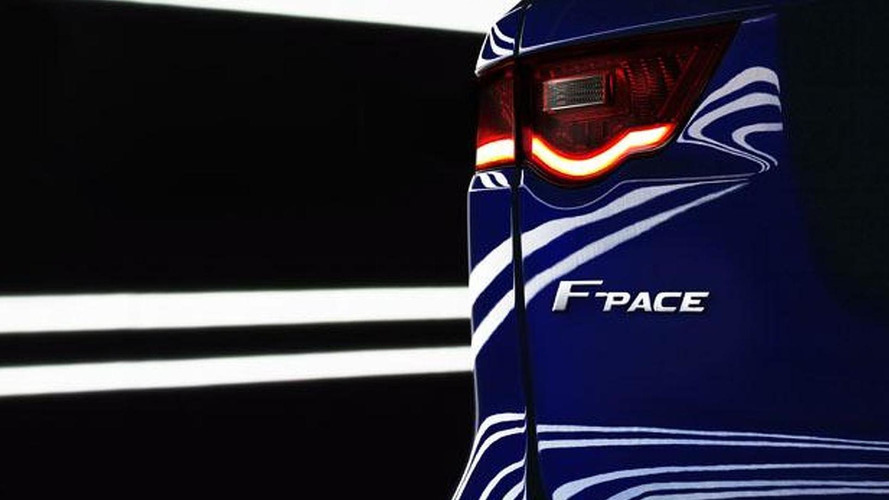 Jaguar F-Pace teased ahead of 2016 launch, will be a C-X17 production version
