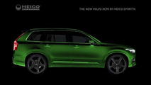 Heico Sportiv teases their tuning program for the Volvo XC90
