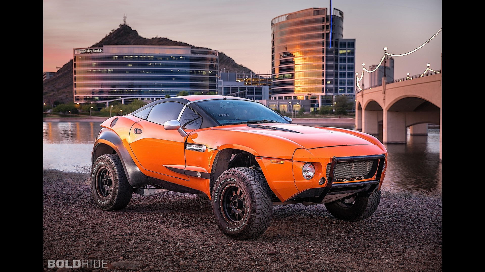 Local Motors Rally Fighter >> Local Motors Rally Fighter