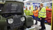 Land Rover Classic Restoration Tour