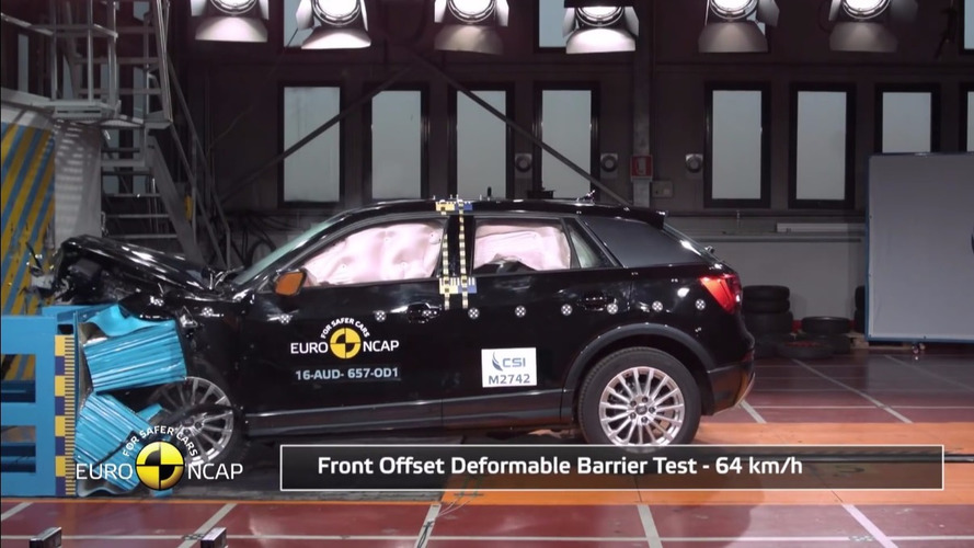 VIDÉO - Crash-test réussi pour l'Audi Q2