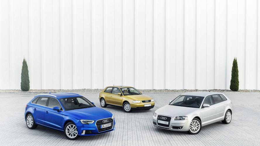 Audi A3, 20 yaşına bastı