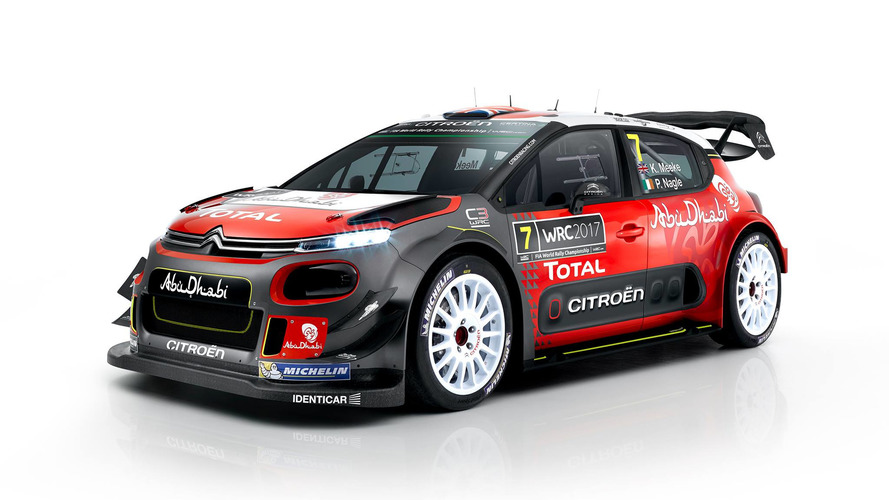 2017 Citroen C3 WRC breaks cover