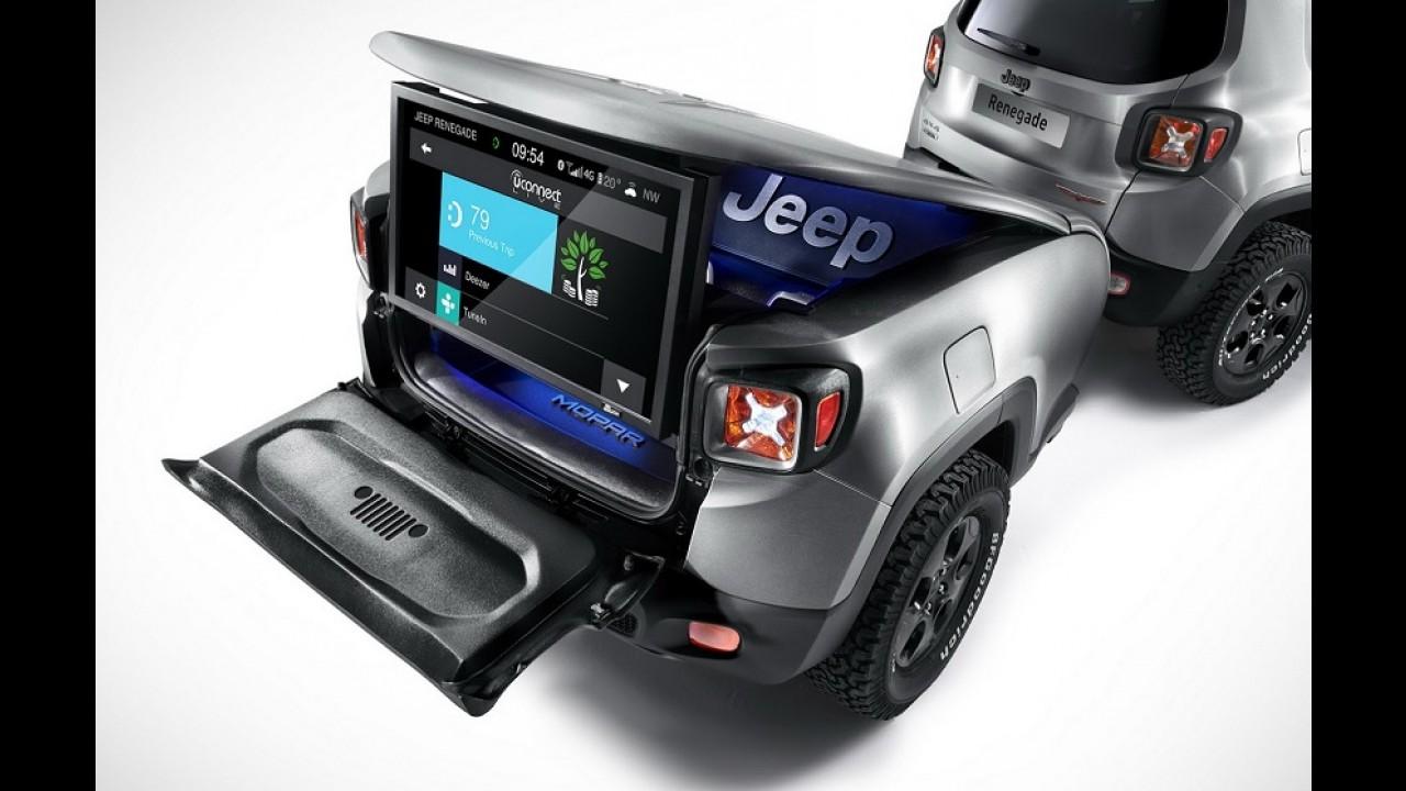 Jeep Renegade ganha conceito com inédito reboque tecnológico