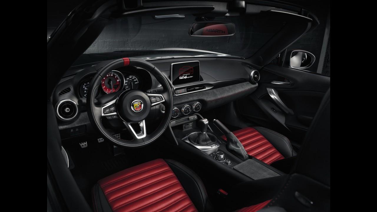 """Fiat 124 Spider ganha """"cara de mal"""" e supera os 170 cv nas mãos da Abarth"""
