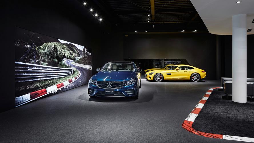 Mercedes-AMG Tokyo showroom