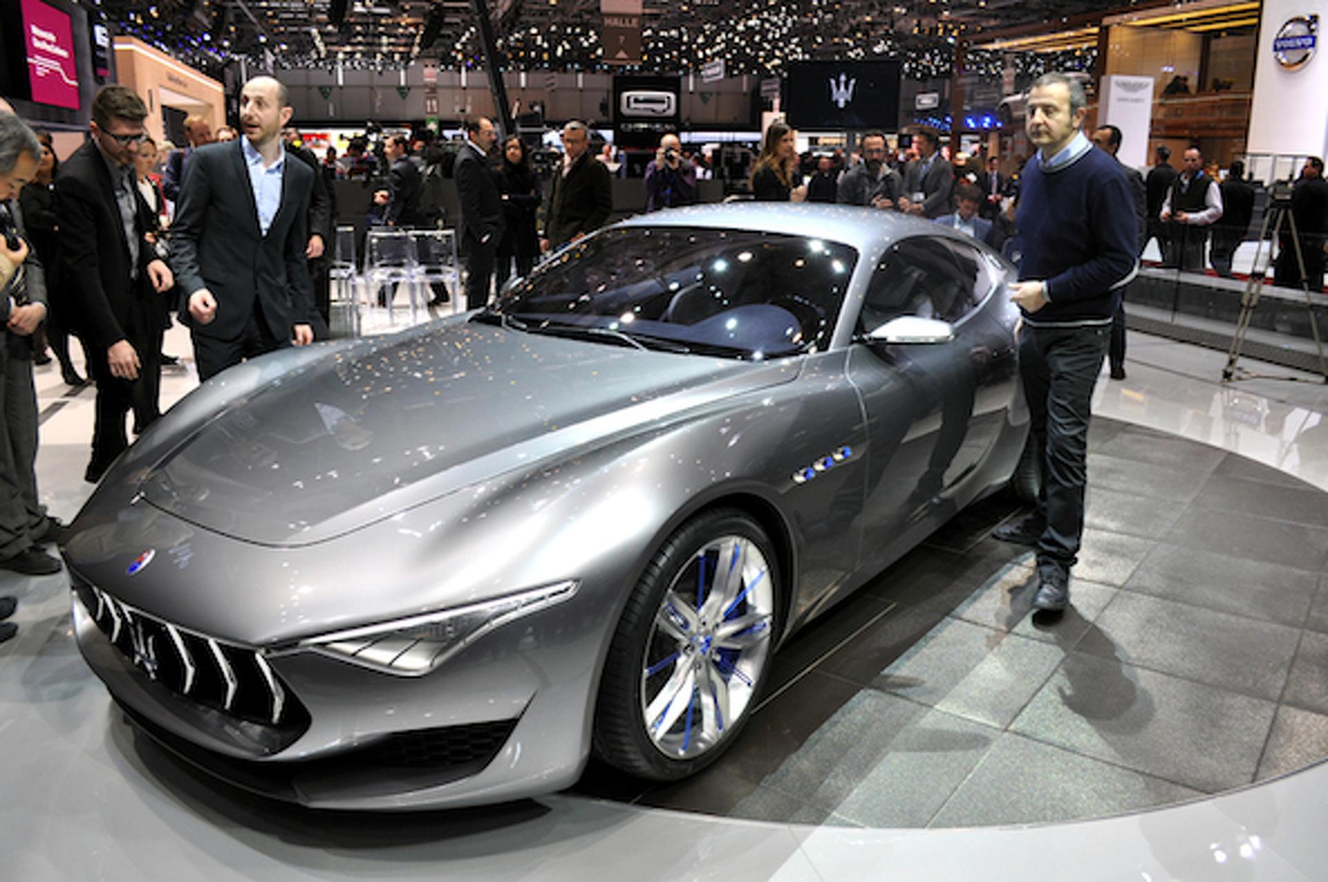 Geneva: Maserati Alfieri Concept Puts Jag and Porsche on Notice [w/ video]