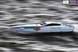 Martini Racing Boat is the Very Definition of Gorgeous