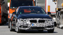 BMW 4 Series Coupe facelift spy photo