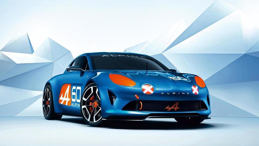 Renault Alpine Celebration concept breaks cover at Le Mans
