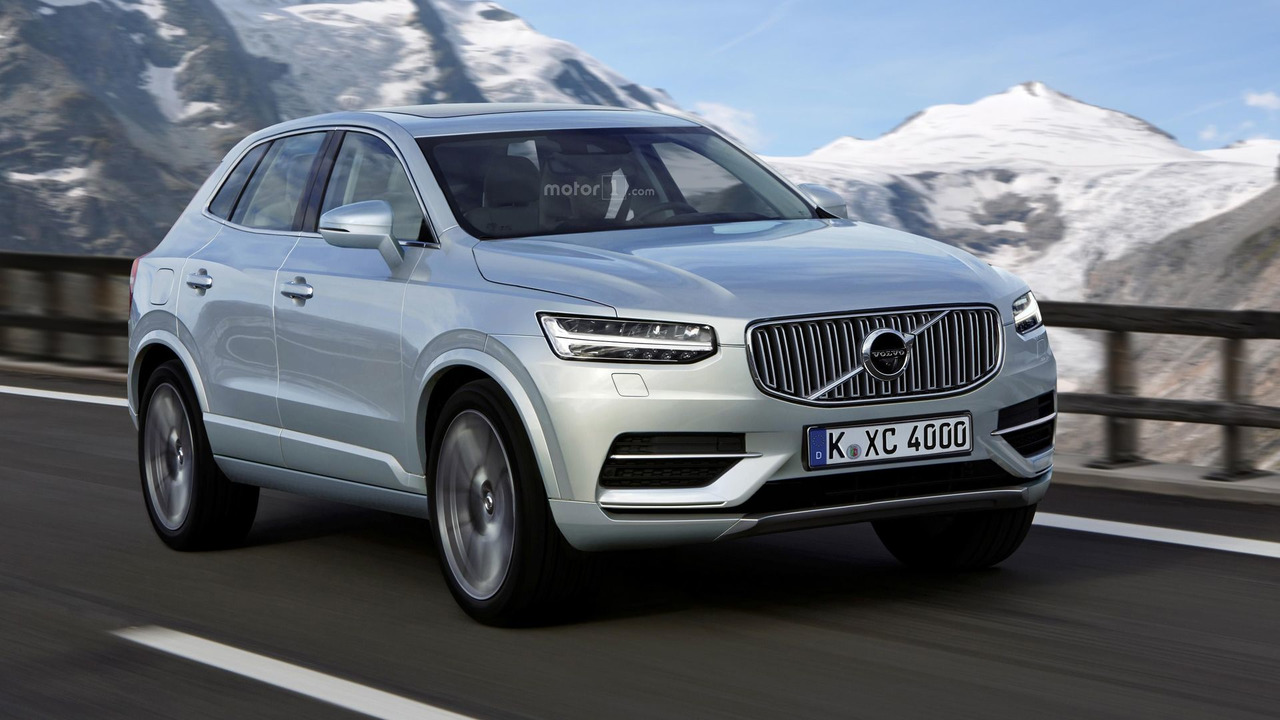 What If The Volvo Xc40 Will Look Like This