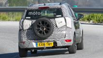 Ford EcoSport facelift spy photos