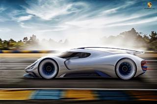 Porsche LeMans Prototype Gets a Gorgeous Rendering