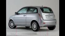 Nuova Lancia Ypsilon (spy foto da autoscoops.eu)