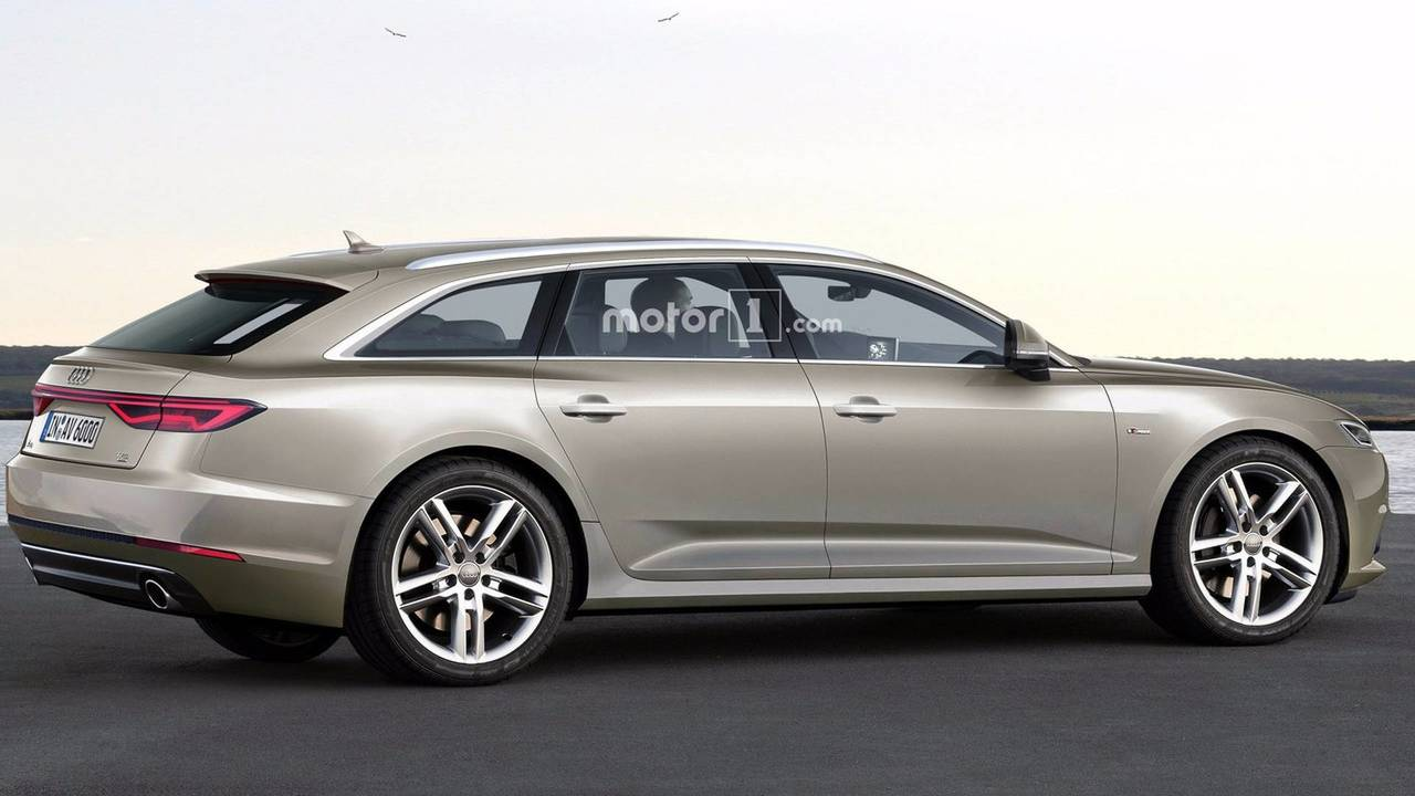 2019 Audi A6 Avant render