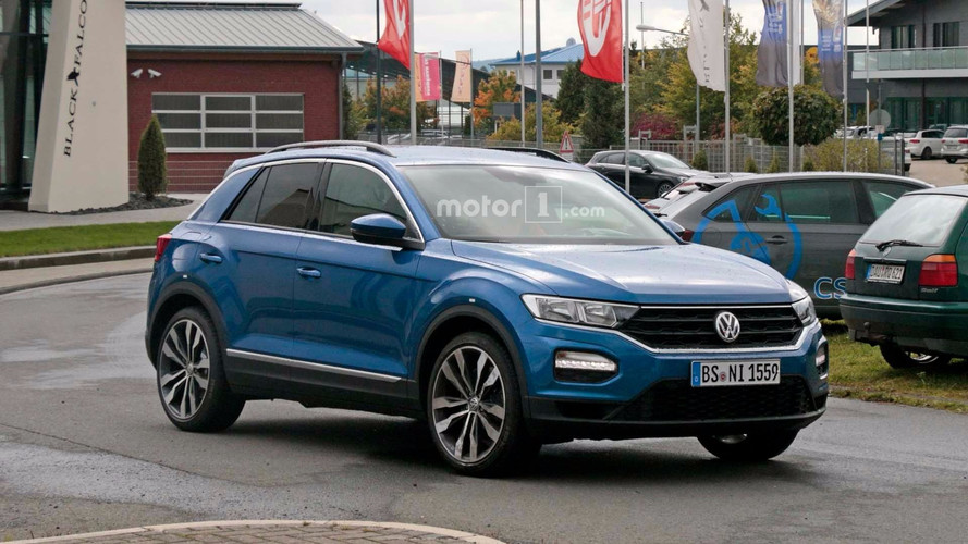 Hot Volkswagen T-Roc With 310 HP Golf R Engine Spied At Nürburgring