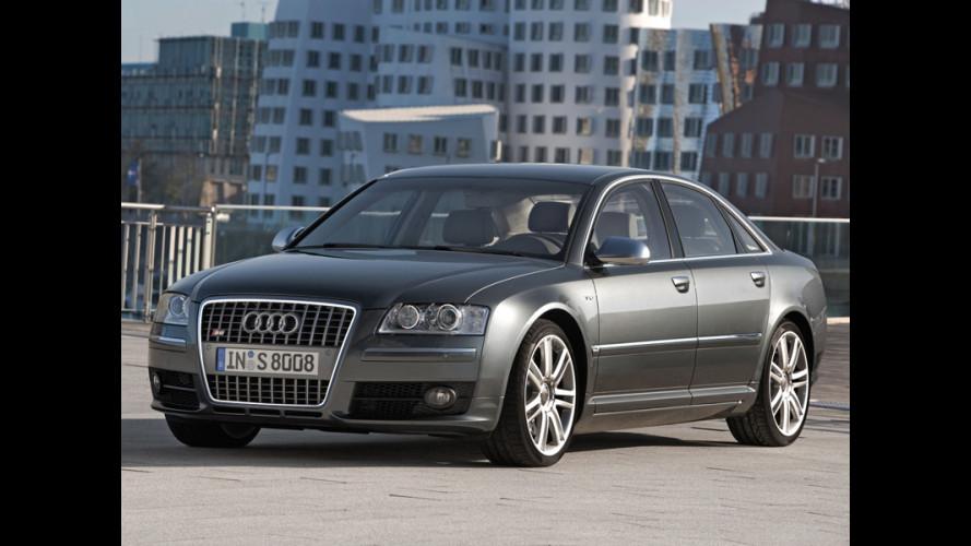 Audi S8: da subito a 98.900 Euro...