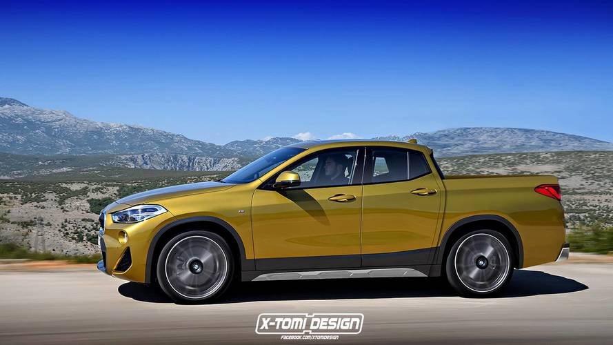 BMW X2 Pickup / Cabrio Renderings