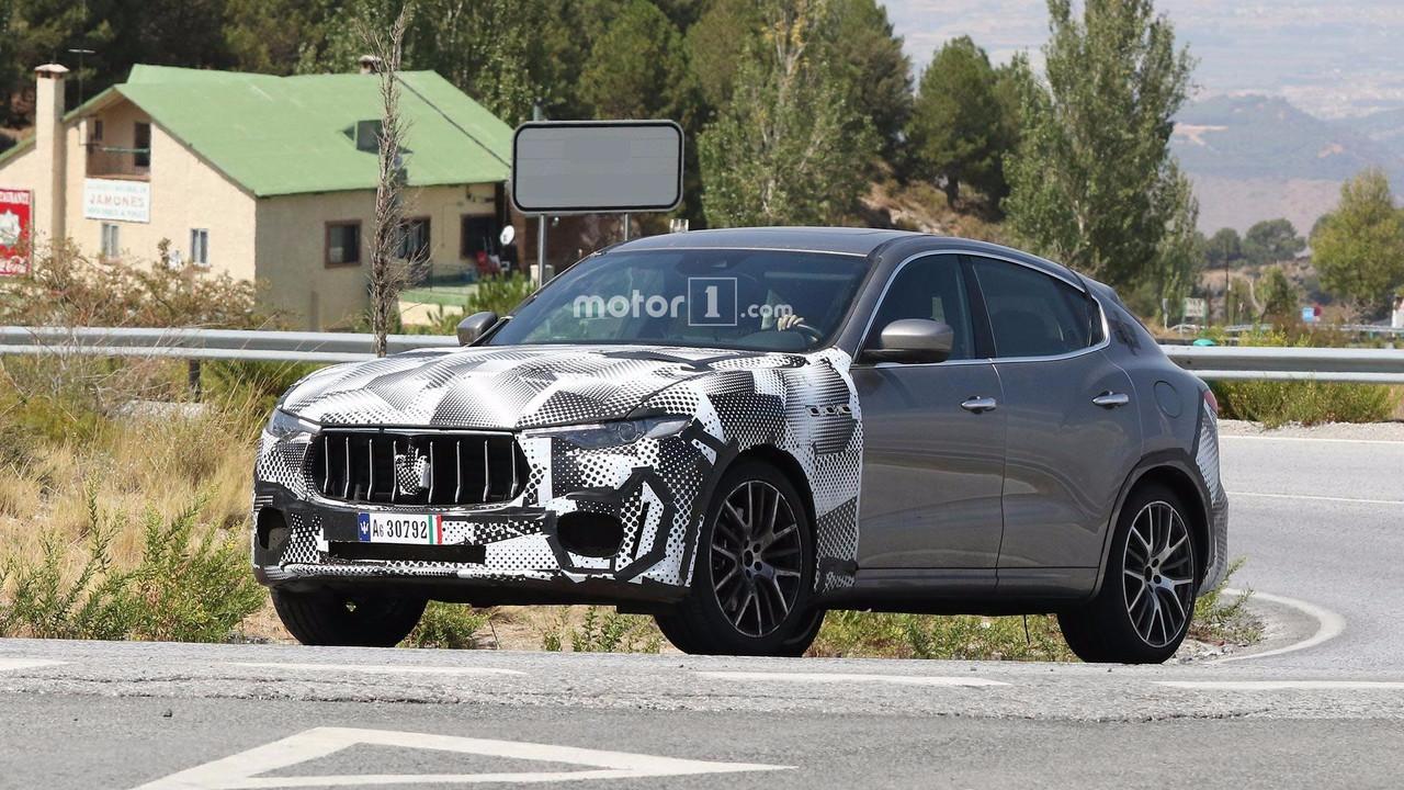 Maserati Levante GTS Spy Shots