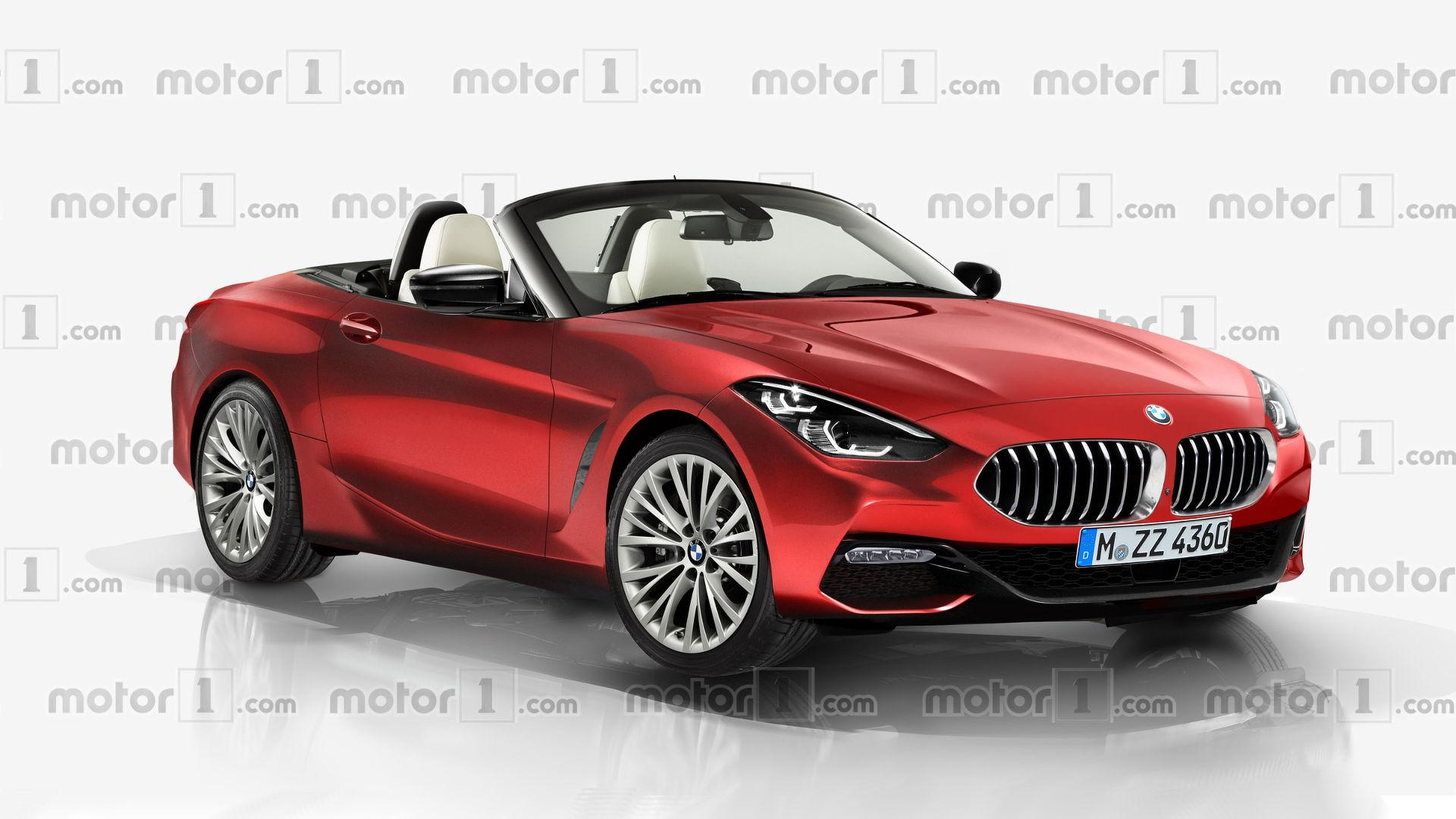 bmw z4 render attempts to turn the concept into a production car. Black Bedroom Furniture Sets. Home Design Ideas