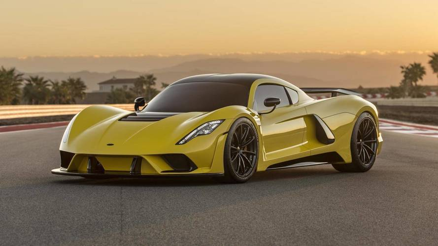 Hennessey's 1600-HP Venom F5 Is Gunning For 300 miles per hour