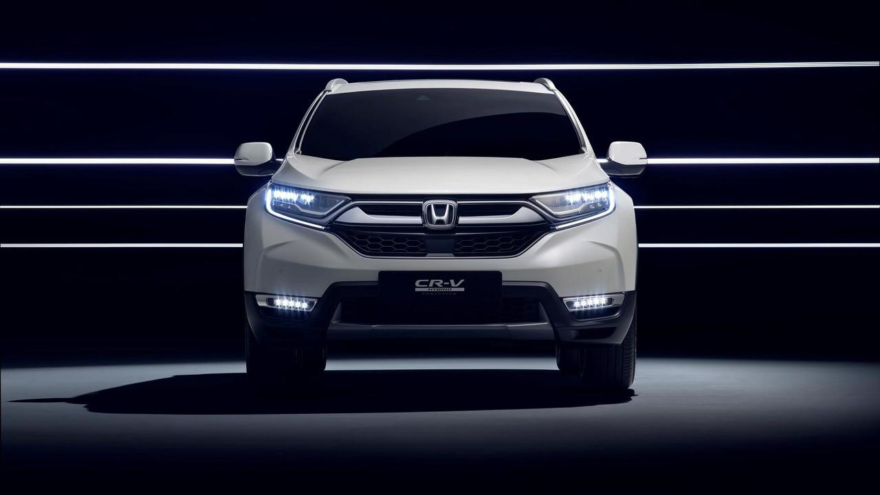 2018 Honda Cr V Hybrid Prototype Euro Spec Motor1 Com Photos