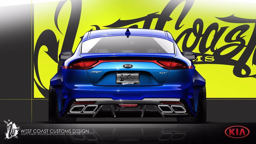 Kia Stinger Gets Wider, Lower, And Meaner For SEMA