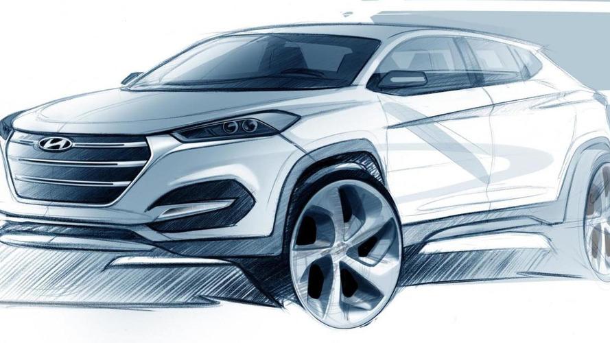2016 Hyundai Tucson / ix35 teased, to debut in Geneva [video]