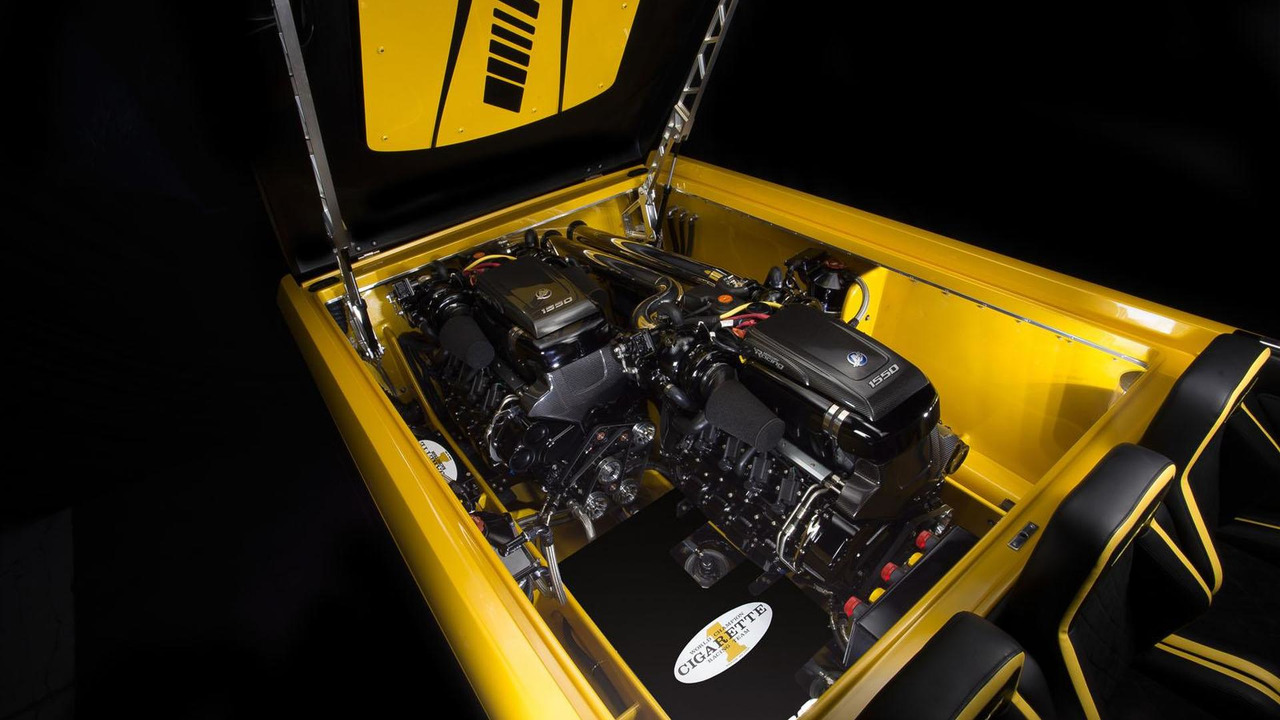Cigarette Racing 50 Marauder GT S konsepti
