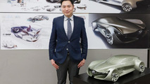 2030 Buick contest - Namsuk Lee, 28, of Seoul, South Korea, designed the 2030 Buick Vision Sedan concept