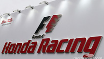 Honda F1 sign