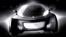 Mitsubishi i MiEV SPORT AIR concept illustration