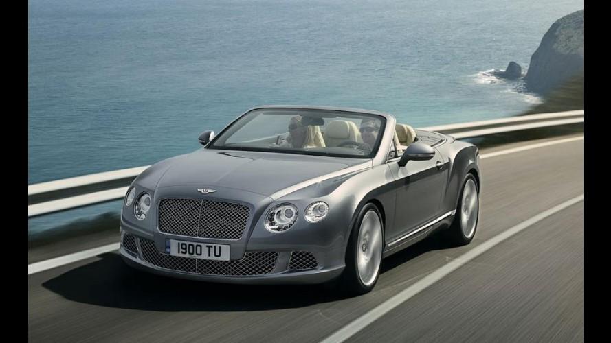 Bentley apresenta segunda geração do Continental GTC, que estará em Frankfurt
