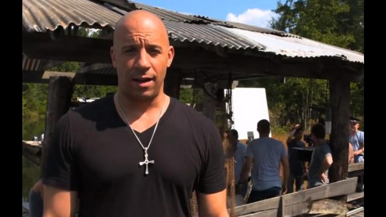 Vin Diesel posta vídeo do primeiro dia das filmagens de