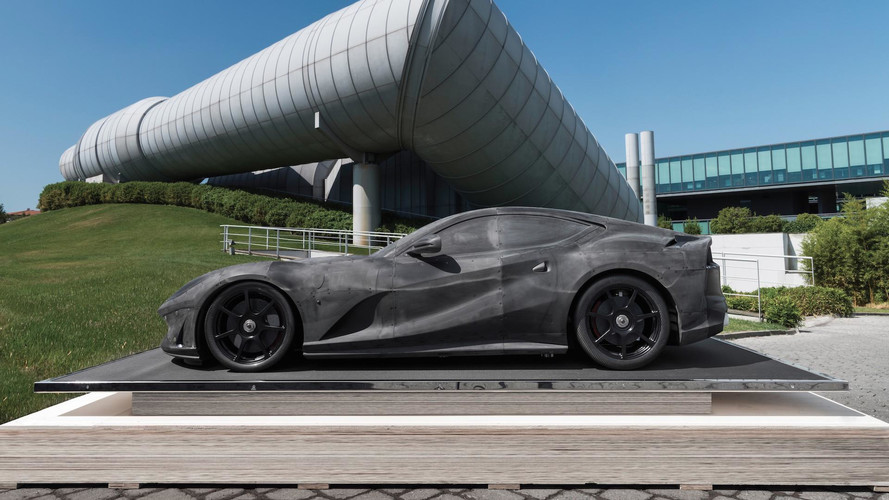 Ferrari 812 Superfast Wind Tunnel Model