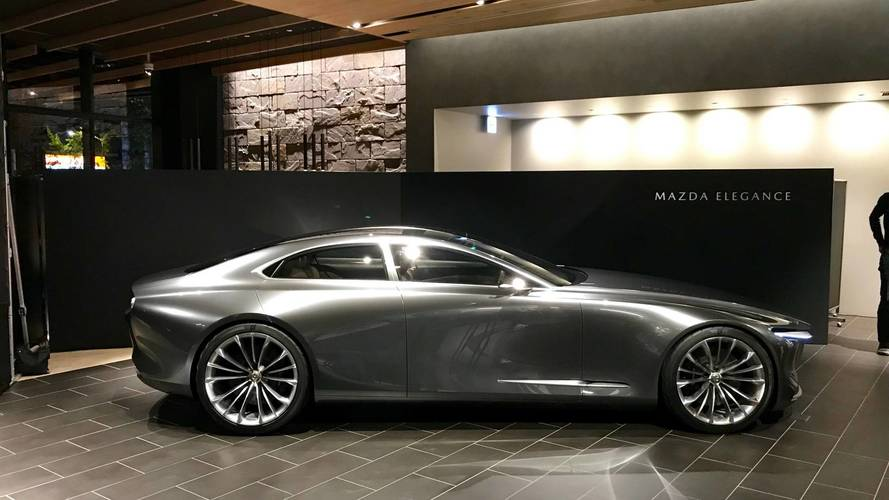 Mazda Vision Coupé - Le retour du fameux RX à moteur rotatif ?