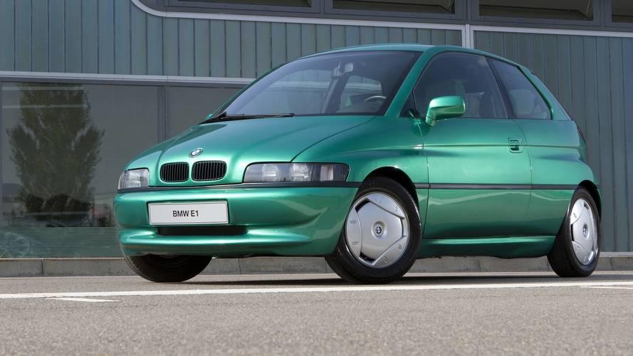 1991 BMW E1 concept