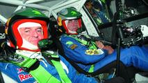 Carlos Sainz Testing the New Skoda Fabia S2000