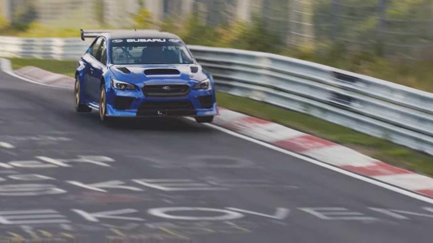 Subaru WRX STi NBR'nin Nürburgring'deki rekor turu [VİDEO]