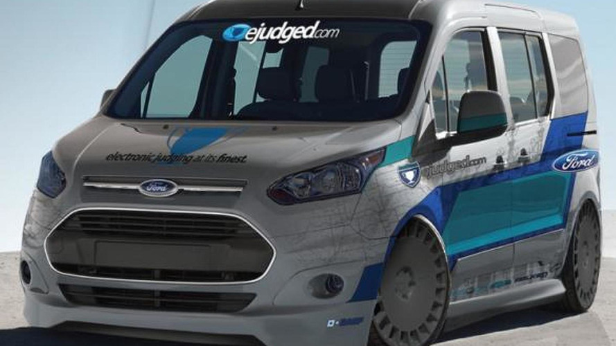 Ford to introduce ten Transit Connects at SEMA
