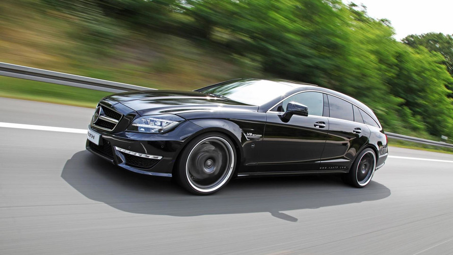 Mercedes-Benz CLS 63 AMG Shooting Brake by VATH churns 846 HP