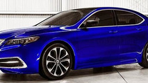2015 Acura TLX render