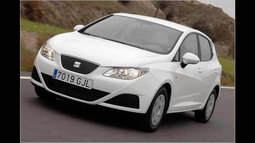 Fiesta eingeholt: Seat Ibiza Ecomotive braucht nur 3,7 Liter