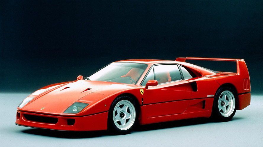 Celebrate 30th Birthday Of Ferrari F40 With A 200-Image Gallery