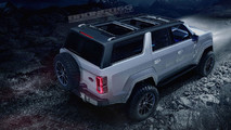 2020 Ford Bronco Rendering