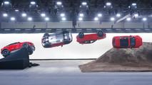 Jaguar E-Pace Barrel Roll